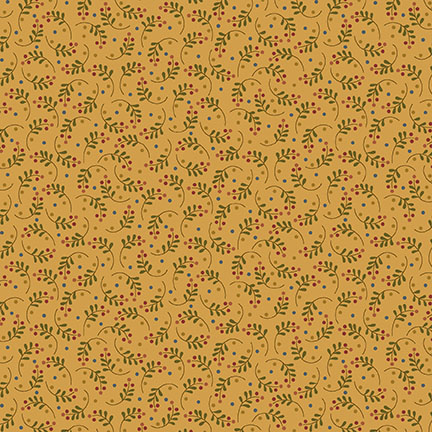 9643-44 Gold from Rustic Homestead by Blank Quilting