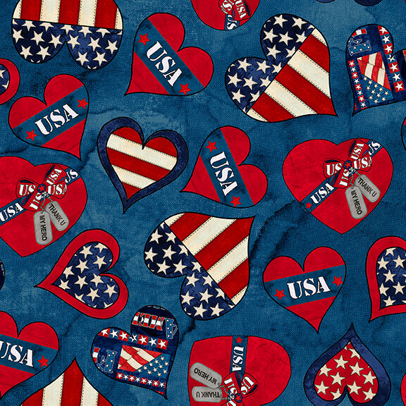 American Honor - Hearts On Blue