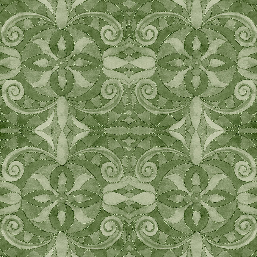 Blank Quilting 108 Baroque Green 9777 66