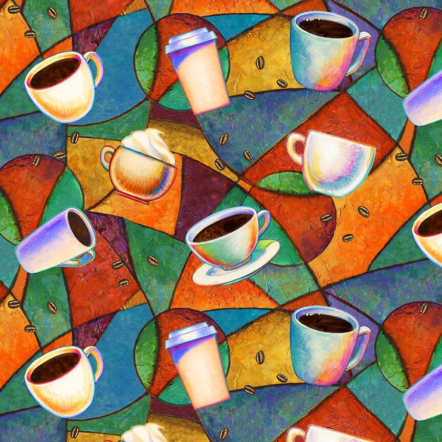 Brewed Awakenings Toss Coffee Cups 9821-70 BLUE