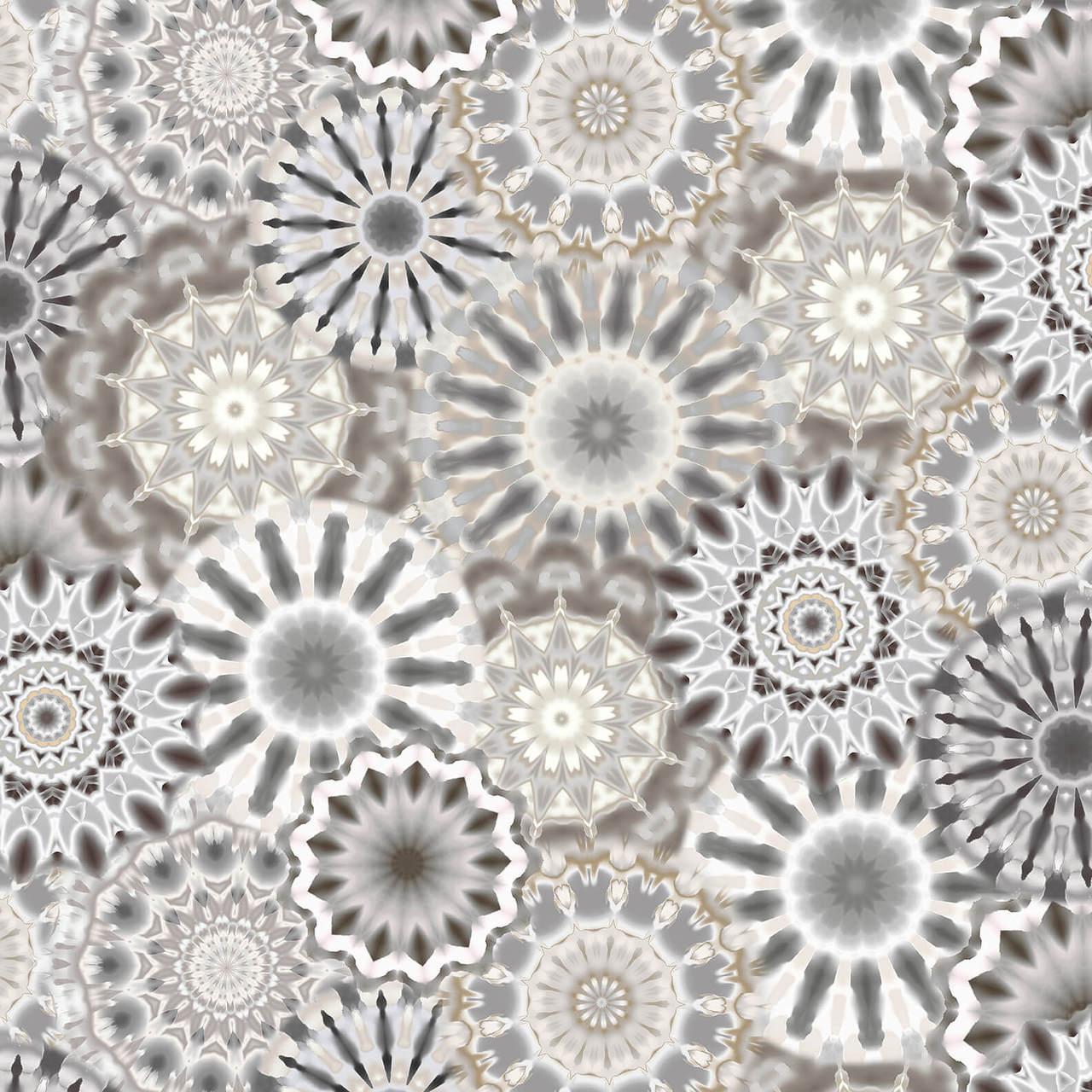 108 Radience Kaleidoscope Gray