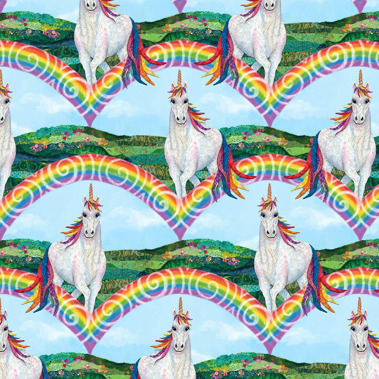 Unicorn-Ocopia Rainbow/Unicorn 9889-70 Lt