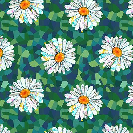 Unicorn-Ocopia Flowers 9895-66  Green
