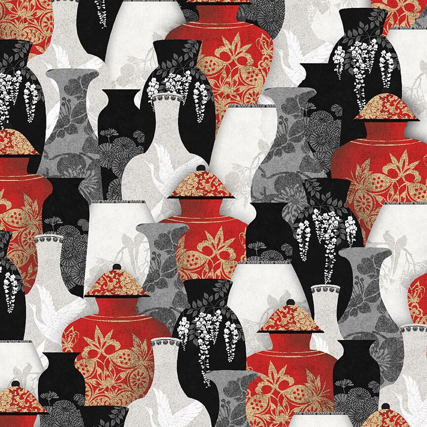 9927-88 Red--Vases