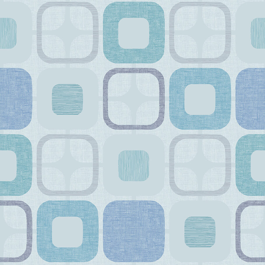 108 Geo-Square Light Blue