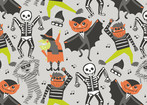 boo bash - Monster Mash Grey