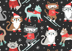 snowlandia - Kitty Patrol Grey