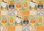 happy halloweeny - HalloweenPals Panel - Actual Size 24 x 44