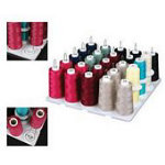 Thread Tray for Serger Spools