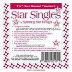 Star Singles 1-1/4 HST Papewr Piecing
