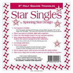 Star Singles 3.0 HST Paper Piecing