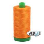 Aurifil Thread 40wt 1133 1000m BRIGHT ORANGE