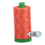 Aurifil Thread 40wt 1154 1000m DUSTY ORANGE
