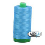 Aurifil Mako Thread 40wt 1000m (Bright Teal)