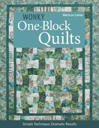 Wonky OneBlock Quilts - 10781