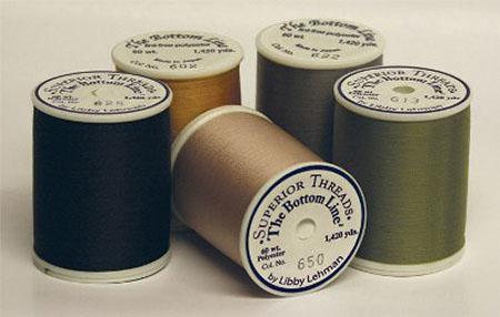 Bottom Line Polyester Thread 60wt 1420yd Bright Orange