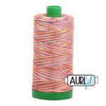Desert Dawn : Aurifil Variegated Cotton Embroidery Thread - 40wt 1000yds - #MK40SP-4648