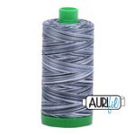 Aurifil Mako Thread 40wt 1000m (Graphite)