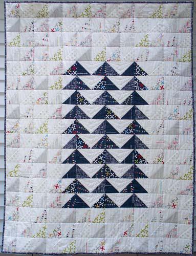 Rebel Flock Quilt Pattern by Esch House Quilts