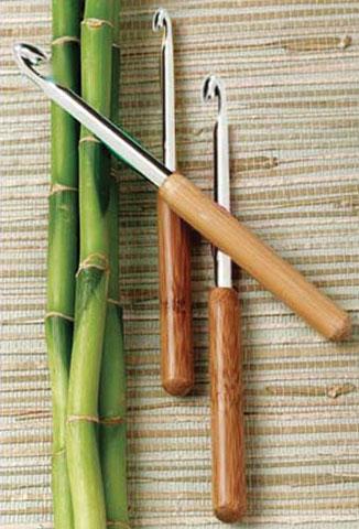 Bamboo Crochet Hooks - Size 4 - 1.75mm