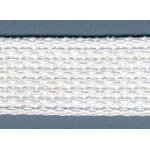 Cotton Belting 1 White