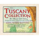 Tuscany Wool Throw Batting 60x60