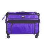 Tutto XLarge Sewing Machine Luggage Purple