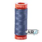 Aurifil 1248 Dark Grey Blue 200m