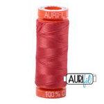 Aurifil 50wt 220y Dark Red Orange