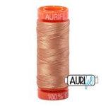 Aurifil 2320 orange gold 200m