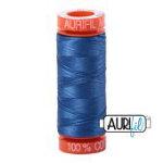 Cotton Mako 50wt 200m 10ct DELFT BLUE