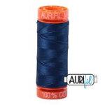 Cotton Mako 50wt 200m 10ct MEDIUM DELFT BLUE