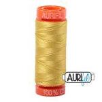 Aurifil 50wt 220y Gold Yellow