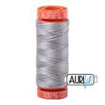 Aurifil Mako Cotton Thread 50wt 220yds - Silver Fox 4670