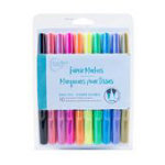 Permanent Fabric Markers- 10 Bright Colors