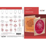 OESD Redwork Greetings Embroidery Collection