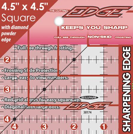 The Cutting EDGE Ruler4.5x4.5