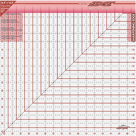 The Cutting EDGE Ruler16.5x16.
