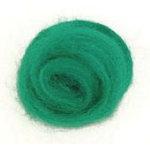 100 Wool RovingGreen
