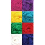 Wool Roving AsstPrimaries