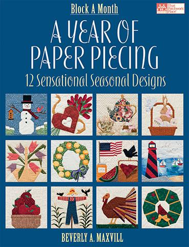 A Year of Paper Piecing Book