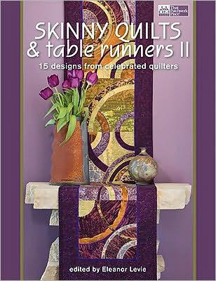 Skinny Quilts & Table Runners - book