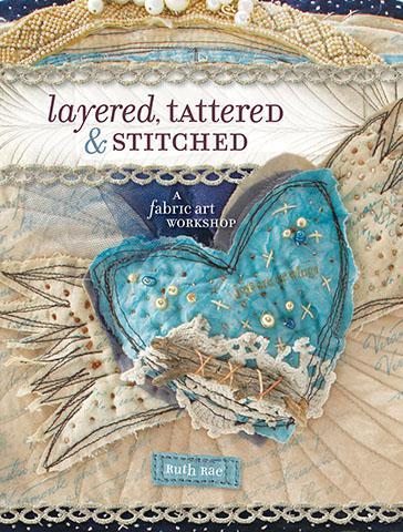 Layered, Tattered Stitc