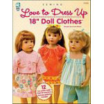 Love to Dress Up - 18 Doll Clothes
