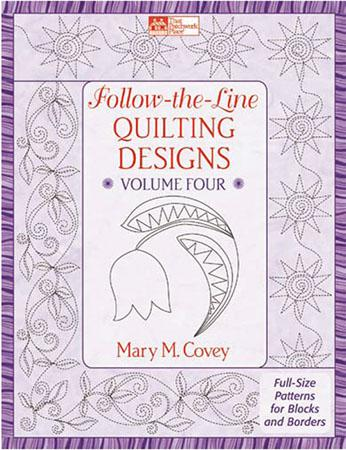 Follow the Line Quilting Designs: Volume 4