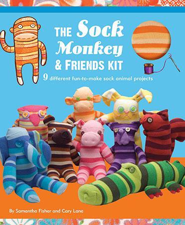 Sock Monkey&Friends Kit