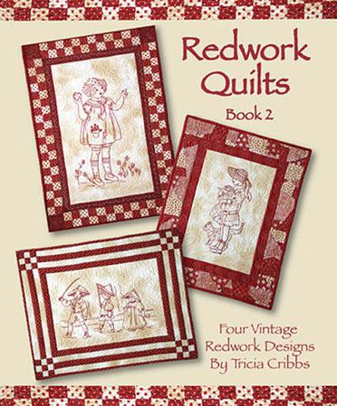 Redwork Quilts Book 2