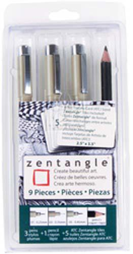 Zentangle 9 Piece Micron Set