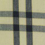 Navy Striped Cream Background Tea Towel