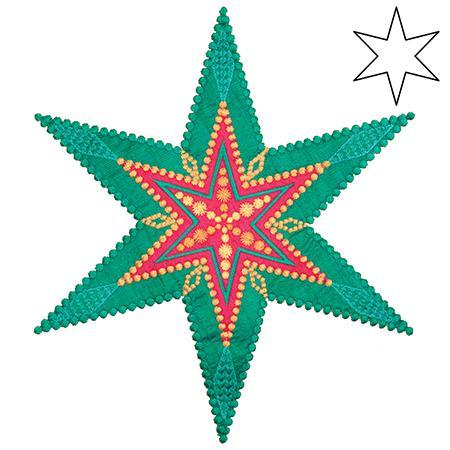 AccuQuilt GO! 6 Point Star AccuQuilt GO! 6 Point Star by Sarah Vedeler